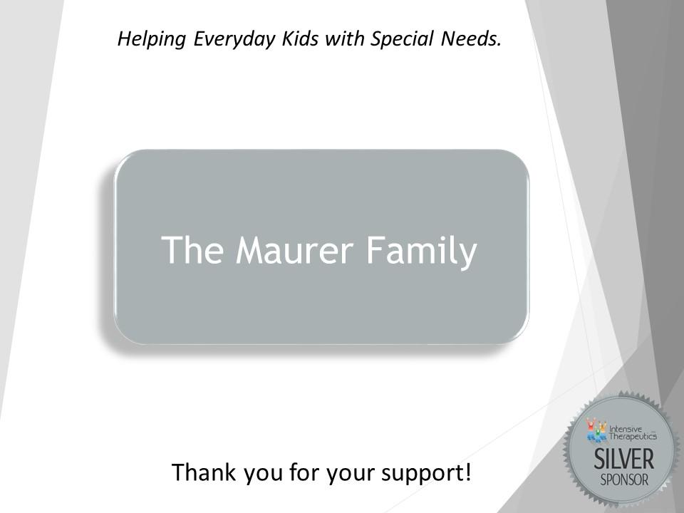 Maurer Family